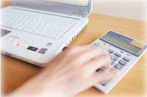 課税経費と非課税経費を管理する会計ソフト