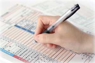 課税業者の消費税の申告